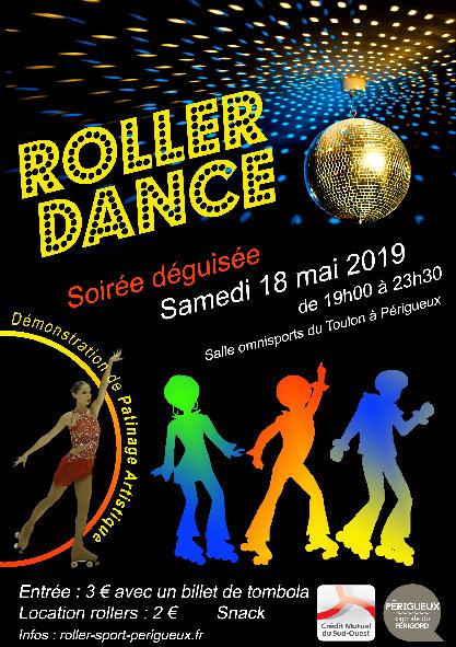 Affiche Roller Disco juin 2019 site